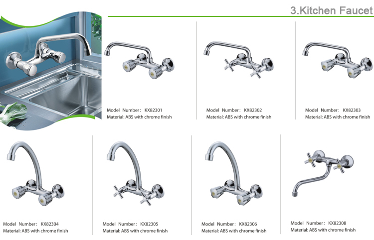 New Design water valve tap ABS plastic low price bibcock for water