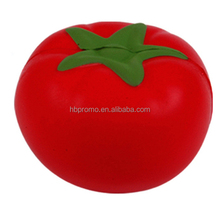 Soft Rebound Customized Tomato Shaped Stress Ball