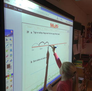 Interactive presentation whiteboards for educators to create dynamic lessons