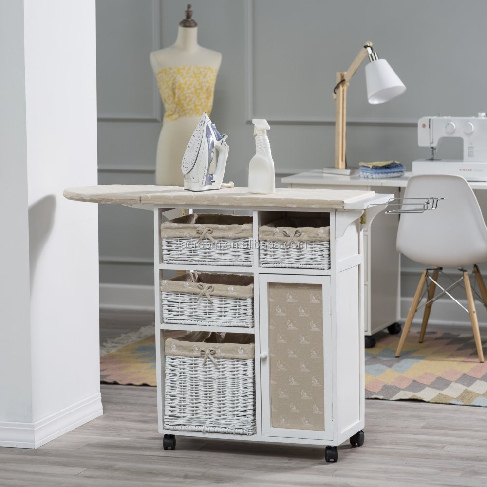 Wholesale Furniture Folding Ironing Board Cabinet With