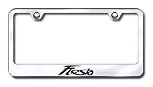 Ford Fiesta Custom License Plate Frame