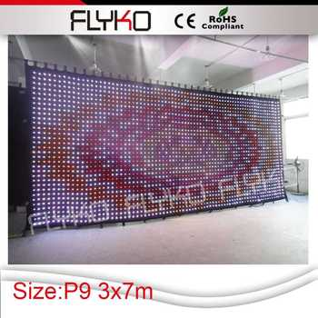 Cheap Goods From China Led Curtain/flexible Led Screen/soft Led ...