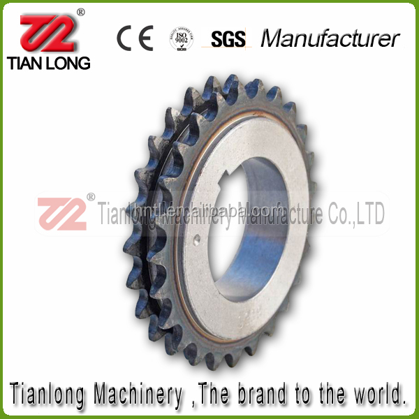 C45 Steel 2205568 S339 Crank Timing Sprocket Wheel with 9.525mm Pitch 25 Teeth