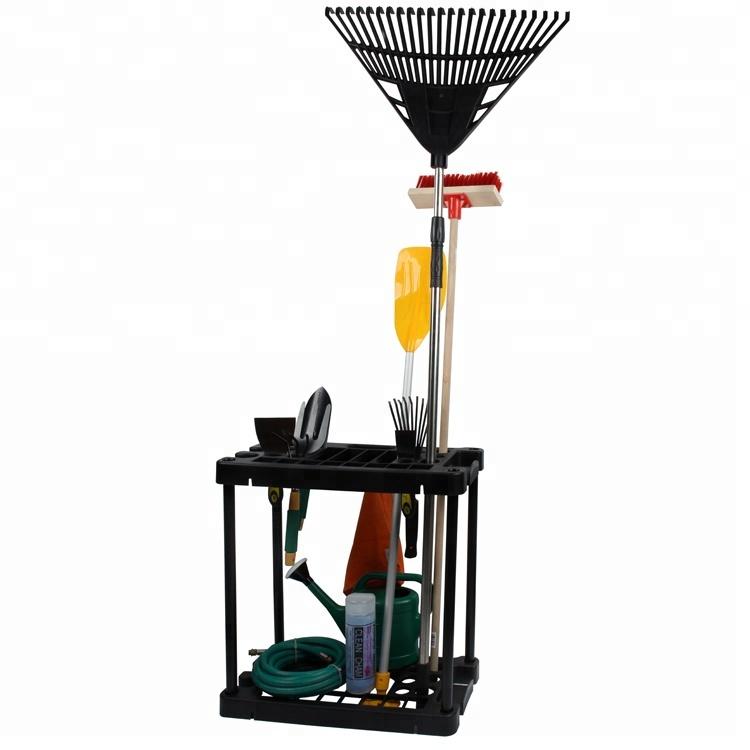 Toprank Household Cleaning Tools Organizer Storage Rack Plastic