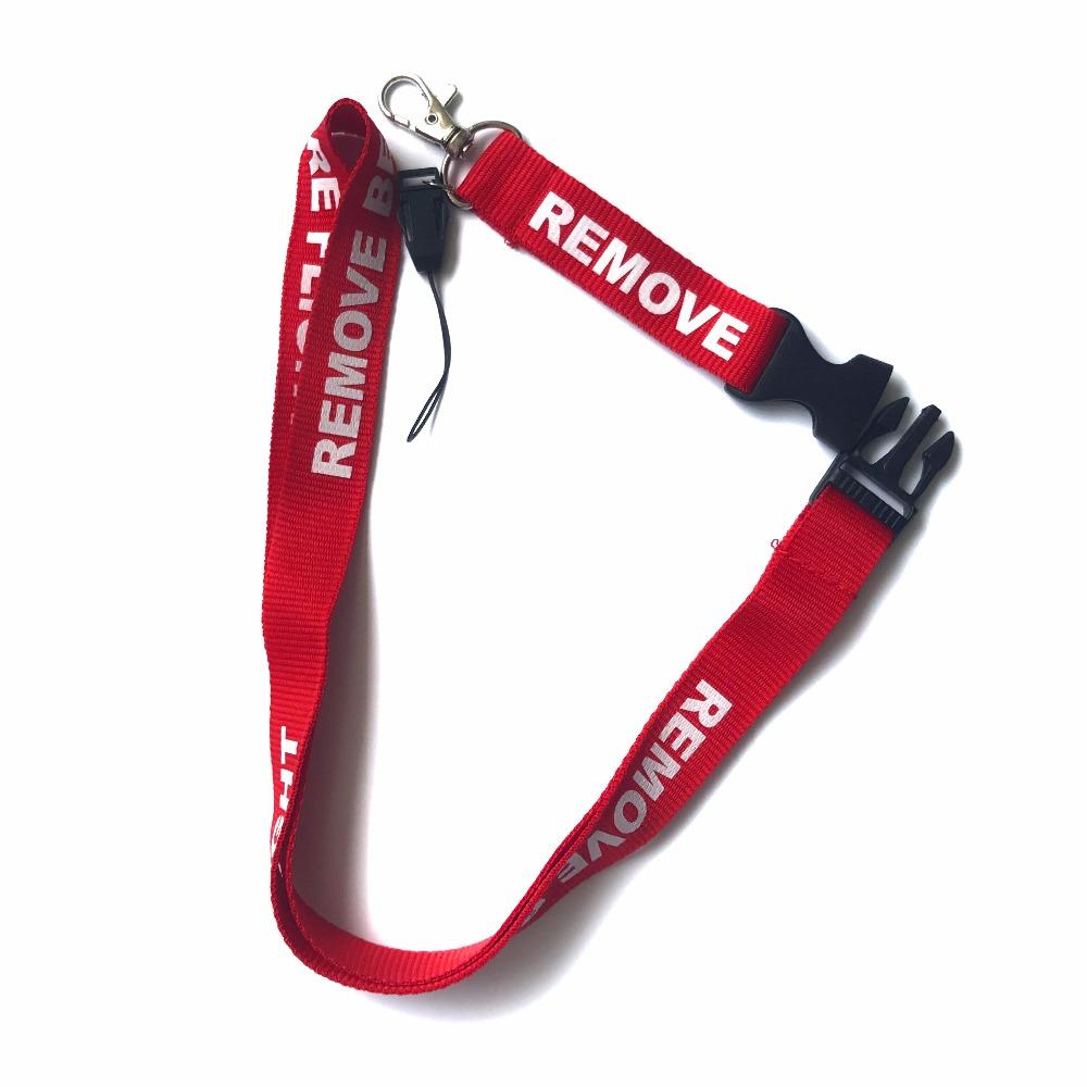 remove before flight lanyards key holder neck strap for phone card gym lanyardTI