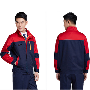 custom made Work Clothing Sets Long Sleeve Factory Labor Engineering Clothes Work Wear Jacket and Pants