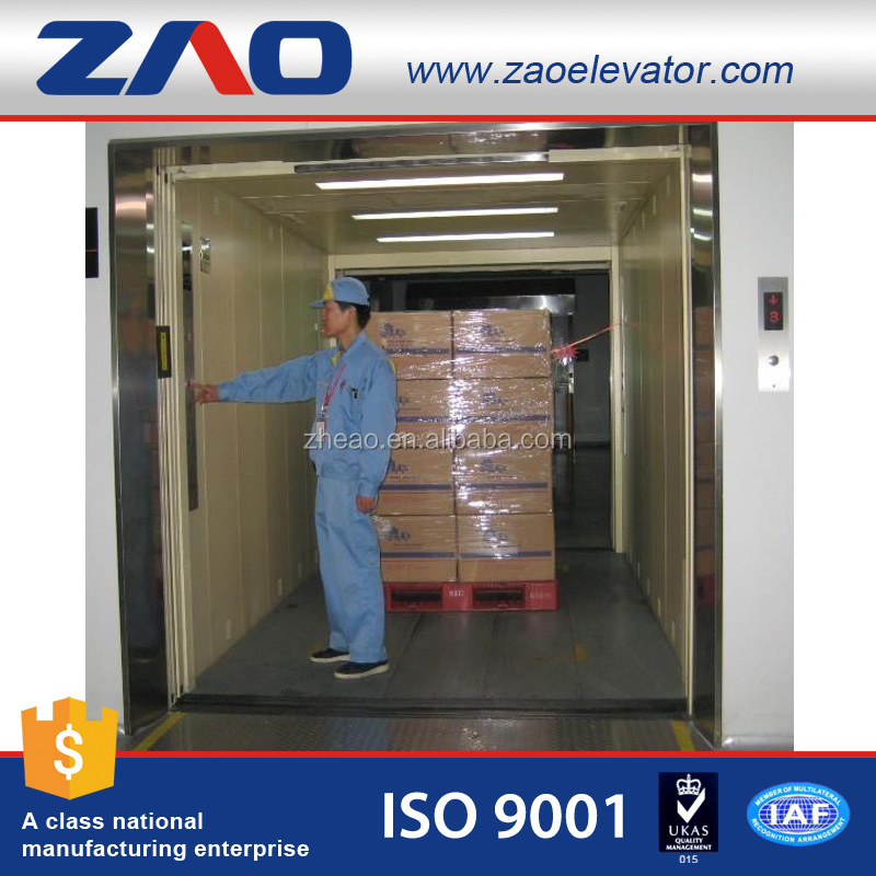 Machine Room-Less Building Elevation Designs Warehouse Cargo/ Freight Lift