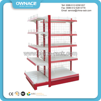 Good Quality Metal Wire Mesh Back Panle Boltless Shelving Units