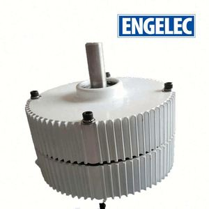 Low RPM high efficiency NdFeb 50kw low rpm 50 rpm permanent magnet alternator generator