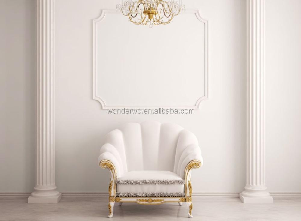 Luxury Modern New Design White Hotel Lobby Single Sofa