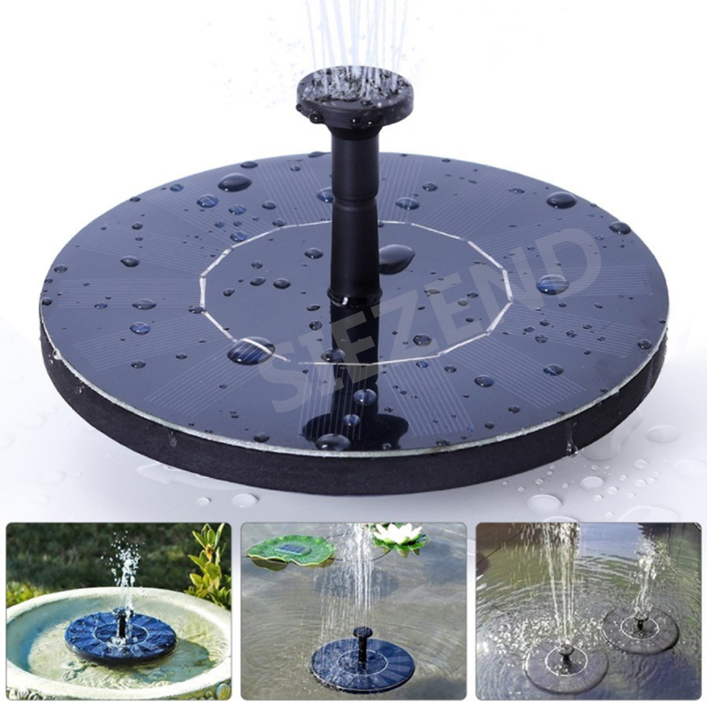 New Coming Alibaba High Quality Panel System Powered Solar Water Fountain Pump for Home Garden Pond Outdoor Fountains