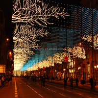 Mall Festival Decorations Holiday Decoration Outdoor Led Motif ...