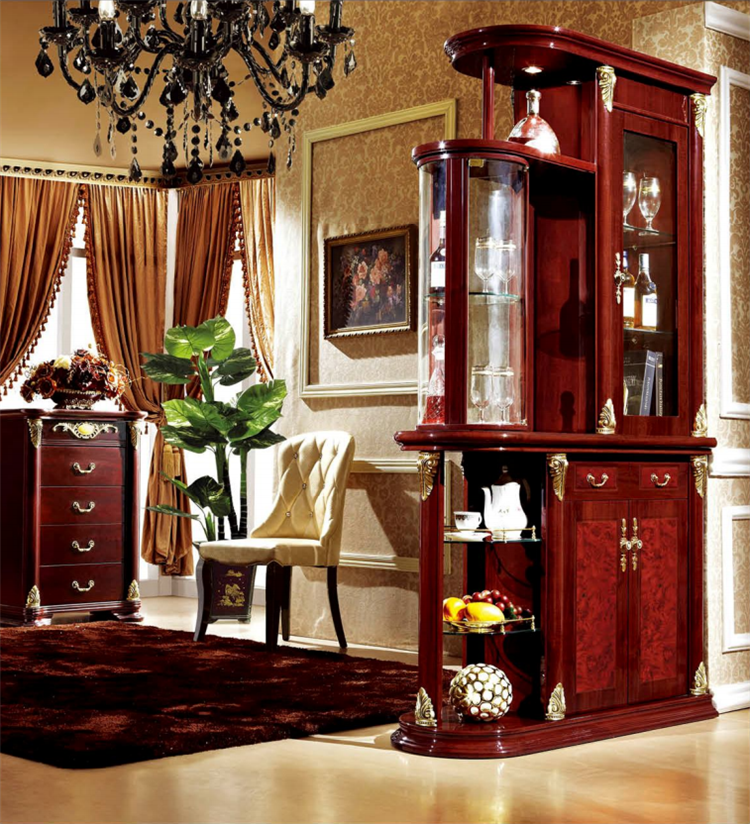 China Classical Furniture Living Room Cabinet Divider ...
