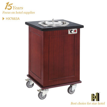 Electric Dish Warmer Trolley