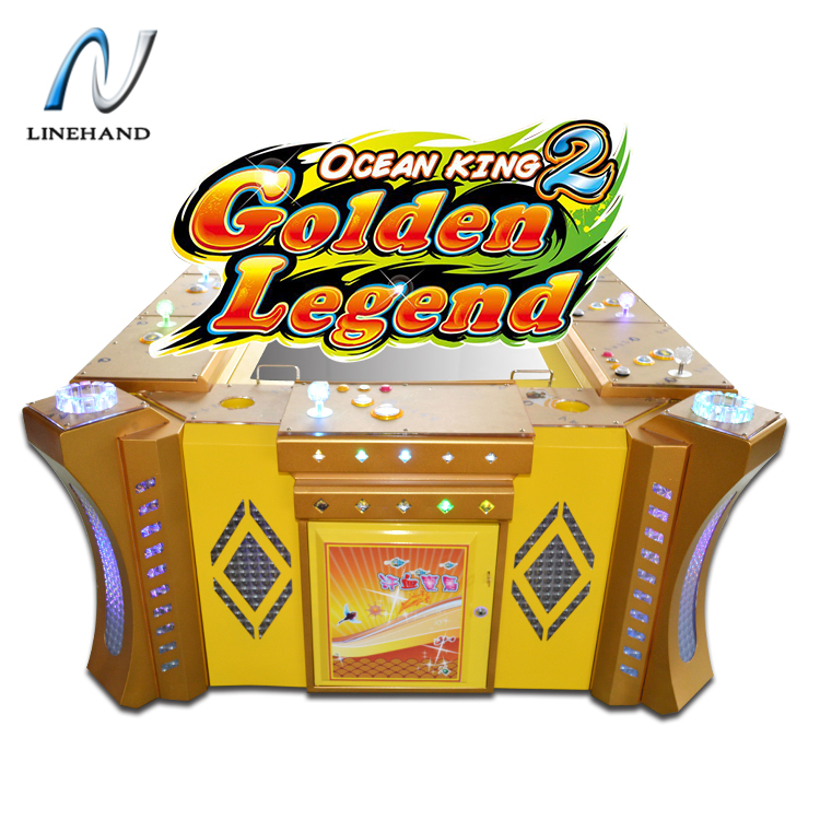 Exciting HD screen fishing game machine video redemption arcade game fish gambling game for sale