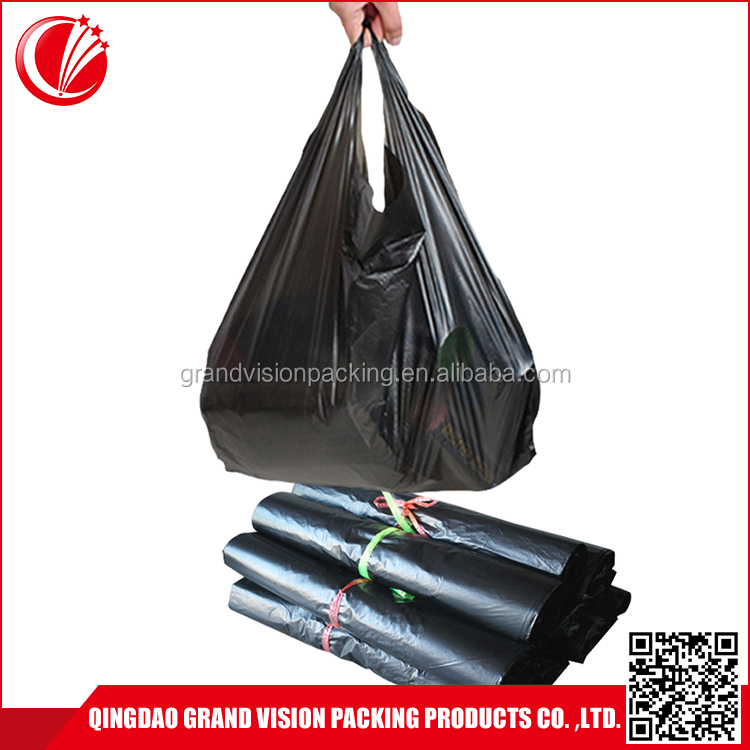 Direct factory price recycling plastic ldpe garbage diaper trash rubbish bag