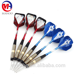 Bulk Pack Brass Barrel Darts Aluminum Flights PET Shaft Steel Tip Dart