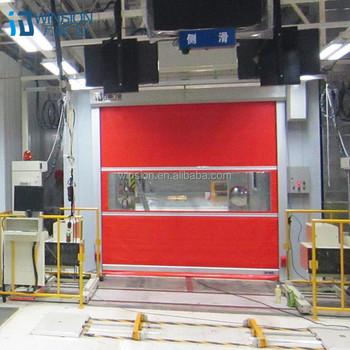 Volet Roulant Porte De Garage Industrielle Pvc Rideau De Porte Kjm ...
