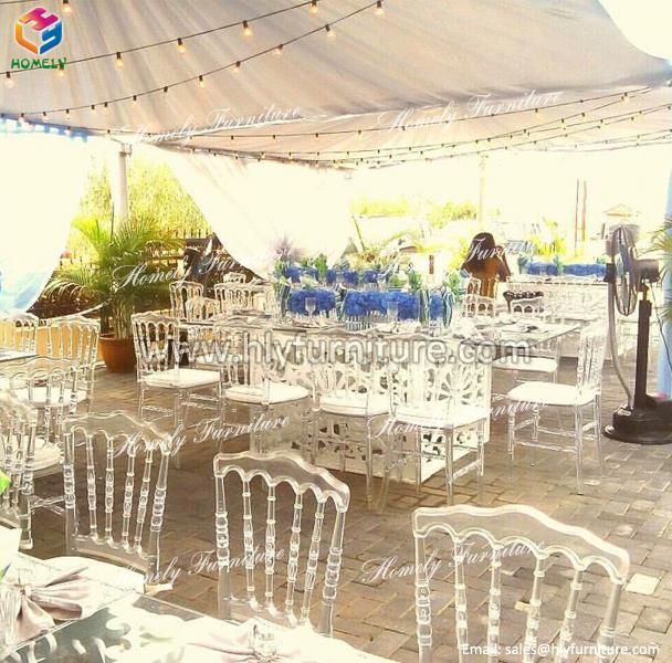 wedding party mirrored dining table