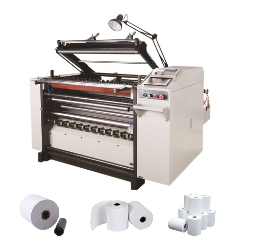 pos paper roll converting machine