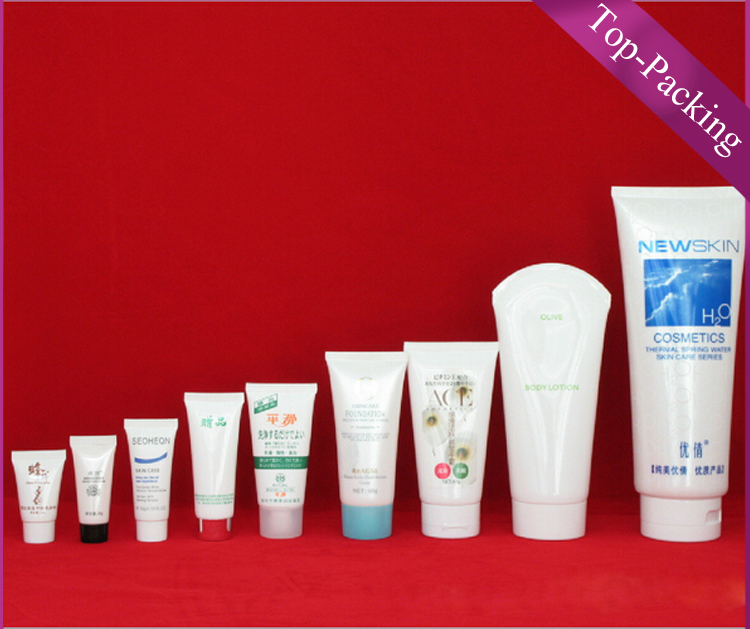 recyclable soft plastic 10 ml cosmetic tube