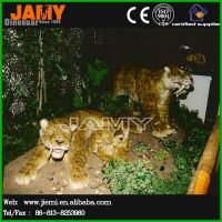 Animatronic Simulation Animal Leopard Model