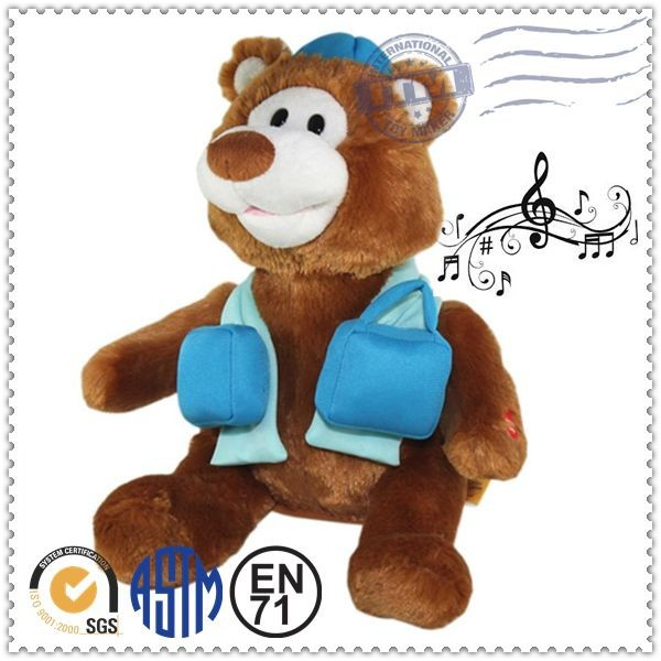Colorful Mini stuffed animal mini voice recorder for plush toy