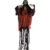 High Quality Creepy Hanging Pirate Party Skeleton Halloween Ghost Hanging