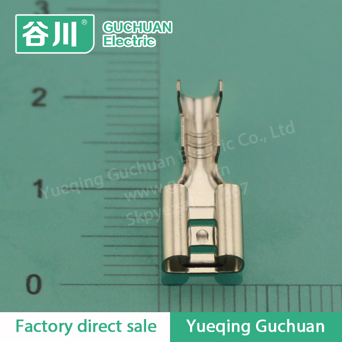 250 electric crimp female terminal,automotive wire connector terminals,DJ622-D6.3B