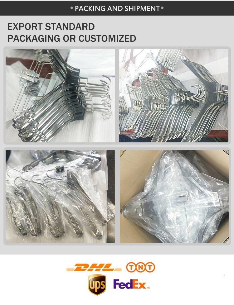 OEM personalizzato acrilico trasparente gancio vestiti bikini gancio