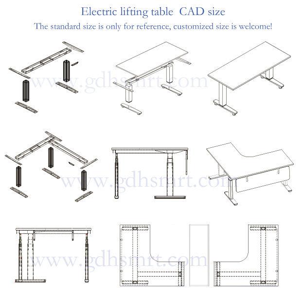Furniture wardrobe accessories height adjustable office - Standard desk chair height ...