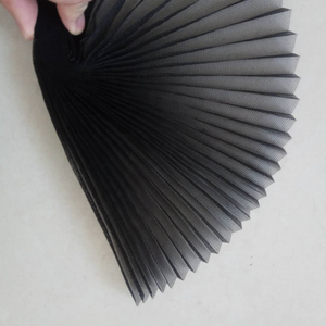 Gray Color Folding Fiberglass Insect Mesh/Pleated Window Screen/Fiberglass Plisse Insect Screen