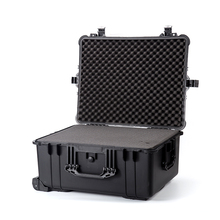 Waterproof Shockproof Safety Rugged Plastic Trolley Toolbox Equipment Storage Tool case