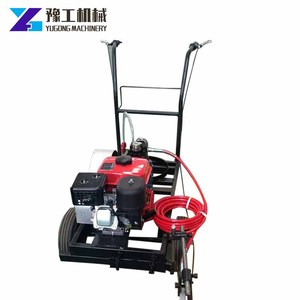 Top quality best parking lot striping cold spraying road marking machine