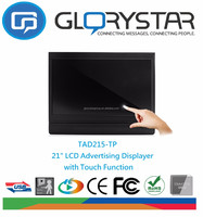 21.5 inch touch screen wall mounted LCD Monitor for Advertising