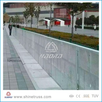 Most Competitive Price Concert Crash Barricades OEM Manufacturer Safety Barricades with Factory Price