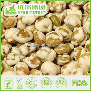 Roasted Wasabi Soya Beans, Dried Soya Beans