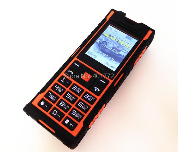 100% IP67 Waterproof Shockproof Dustproof Mobile Phone Original Outdoor  Army Cell Phone Long Standby Power Bank Dual SIM Phone