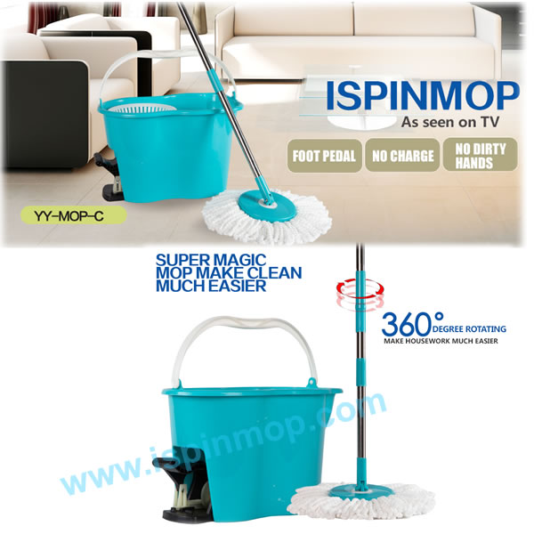 Ispinmop Ebay China Trending Hot Products Pedal Spin Mop Online ...