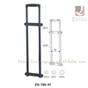 China Supplier Retractable Plastic Trolley Handles For Alibaba Sales