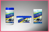 (2015 OEM&ODM Welcomed) Disposible car wet wipe for cleaning leather seat glass dashboard car window wipe car wiping cloth