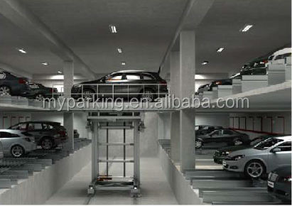 Hydraulic Dealership Steel Stacker Autos Electricos Car Parking System