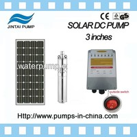 JINTAI 3 inches stainless steel solar fountain pump kit for agriculture 48V