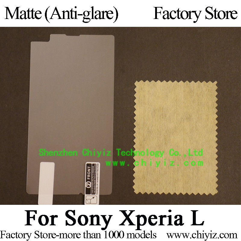 Matte Anti glare Screen Protector Guard Cover protective Film For Sony Xperia L C2104 C2105 C210X
