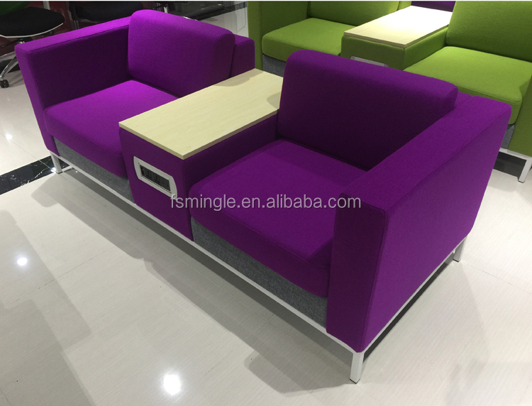 Strange Customized 2 Seater Reception Sofa Meeting Office Sofa With Socket Table Box Buy 2 Seater Reception Sofa Customized Meeting Office Sofa Sofa With Gmtry Best Dining Table And Chair Ideas Images Gmtryco