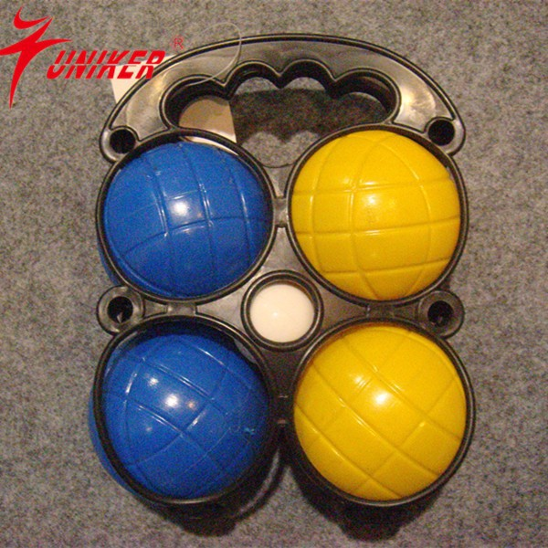 wooden bowling / ring toss / bocce ball / cricket 4 game set