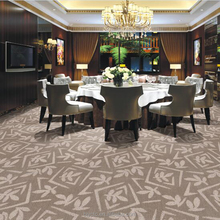 Hot popular commercial hotel hall cut loop wall to wall carpet
