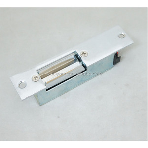 12V DC ELECTRIC STRIKE DOOR LCOK WITH STEEL FACE PLATE FOR SWING DOOR
