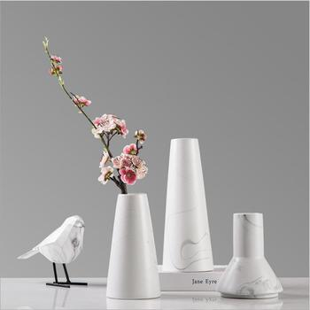 Simple Modern Ceramic Vase Decorationfurnishingscreative Flower