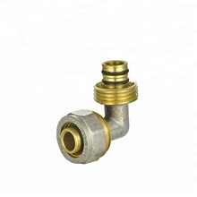 Rehau model straight male sliding fittings copper brass fitting for pex pipe